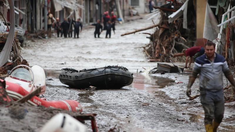 AFAD: Doğu Karadeniz'de çok şiddetli sağanak bekleniyor