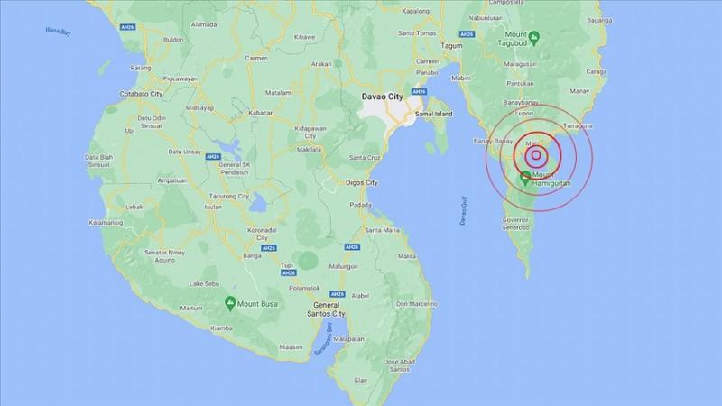 Filipinler'de Mati kentinde 7,1 büyüklüğünde deprem