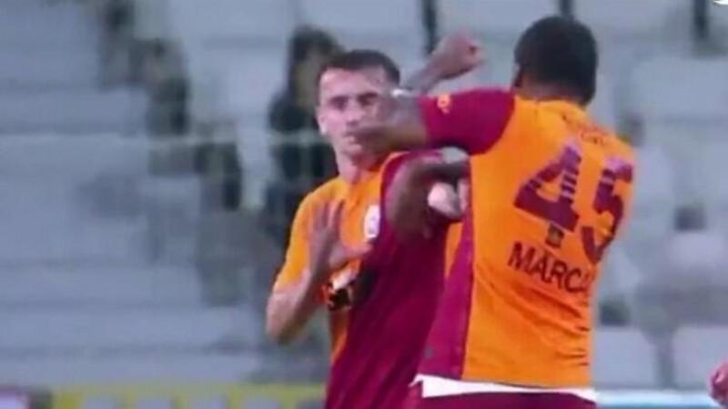 Marcao, Kerem Aktürkoğlu'na kafa atıp, yumrukladı!