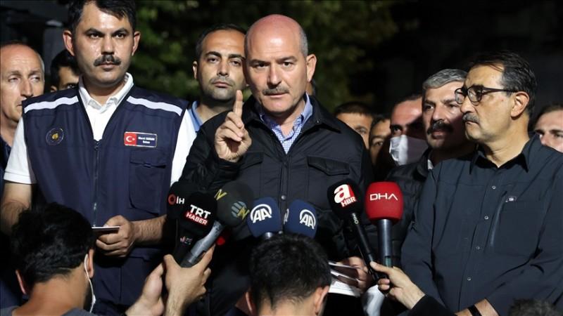 Soylu: Kastamonu'da 62, Sinop'ta 15 kayıp ihbarı var