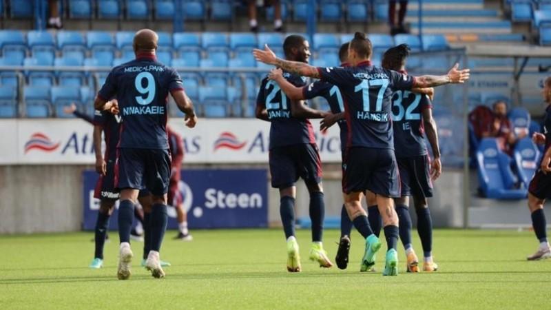 Trabzonspor Konferans Ligi'nde play-off turuna yükseldi